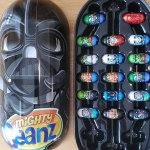 83 Mighty Beanz w/ Star Wars Case